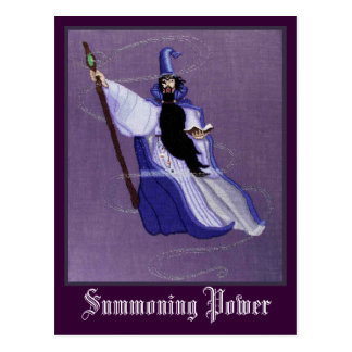 SUMMONING POWER POSTCARD