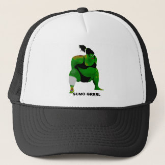 SUMO GRRRL TRUCKER HAT