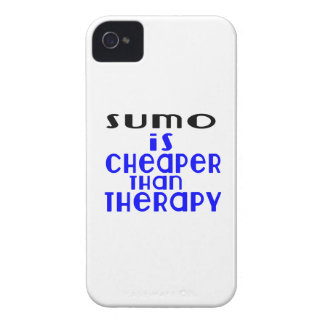 Sumo Is Cheaper  Than Therapy iPhone 4 Cover