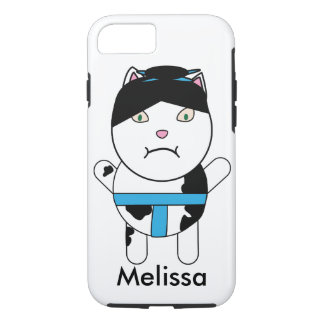 Sumo Kitty Personalize iPhone 7 Case