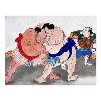 Sumo Postcard