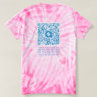 SUMO QR-Clothes, Back QR-Code/Text, Front 3:3 T-shirt