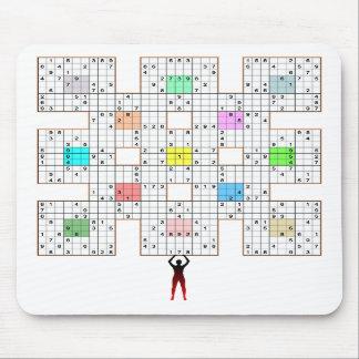 Sumo Sudoku puzzle Mouse Mat
