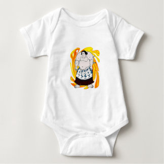 Sumo Sweeper Baby Bodysuit