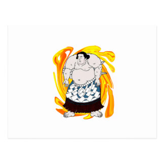 Sumo Sweeper Postcard