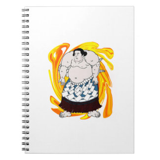 Sumo Sweeper Spiral Notebook