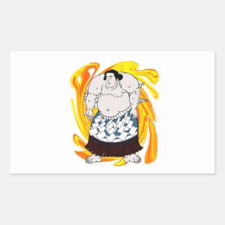 Sumo Sweeper Sticker
