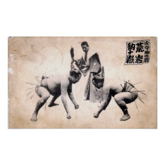 Sumo Wrestlers Poster