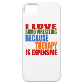 Sumo Wrestling Is My Therapy iPhone 5 Case