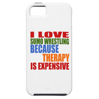 Sumo Wrestling Is My Therapy iPhone 5 Covers