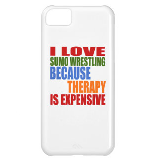 Sumo Wrestling Is My Therapy iPhone 5C Cases