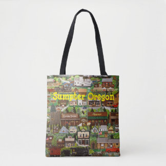 Sumpter Gold Tote Bag