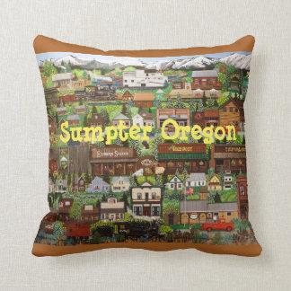 Sumpter, Oregon Pillow
