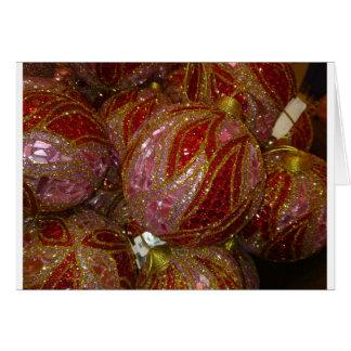 Sumptuous Christmas Balls Card