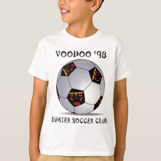 Sumter Voodoo '98 Soccer Ball T-Shirt