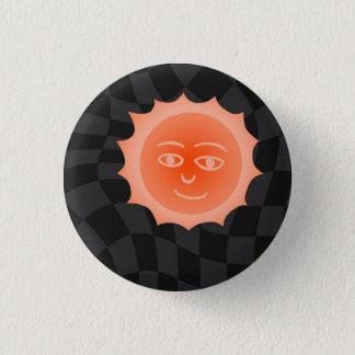 Sun 1 Inch Round Button