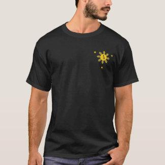 SUN & 3 STARS with Philippine Map T-Shirt
