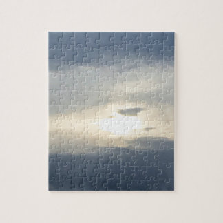 Sun and Clouds Jigsaw Puzzle