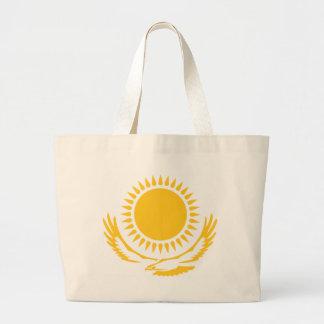 Sun_and_Eagle Large Tote Bag