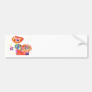 Sun and Flower1 jGibney The MUSEUM Artist Series K Bumper Sticker