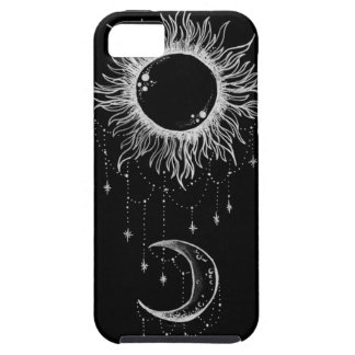 Sun and Moon Boho case