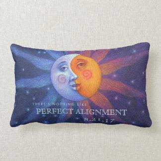 Sun and Moon Eclipse Perfect Alignment Lumbar Pillow