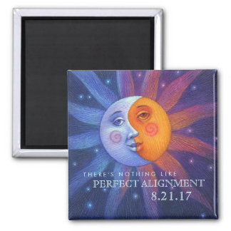 Sun and Moon Eclipse Perfect Alignment Magnet