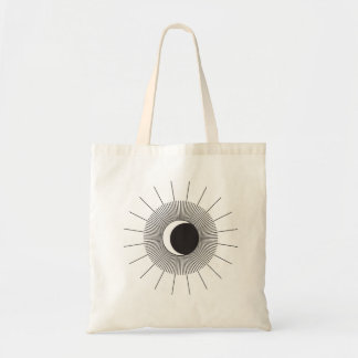 Sun and Moon Eclipse Tote Bag