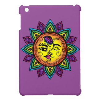 sun and moon iPad mini cases