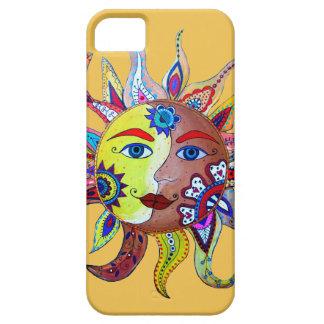 SUN AND MOON - LA LUNA EL SOL iPhone 5 COVERS