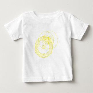 Sun and Moon Orbits Zetetic Astronomy Baby T-Shirt
