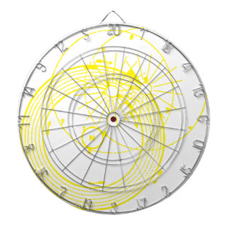 Sun and Moon Orbits Zetetic Astronomy Dartboard