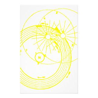 Sun and Moon Orbits Zetetic Astronomy Stationery