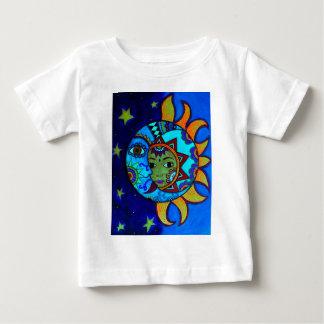 SUN AND MOON PRISARTS PAINTING BABY T-Shirt