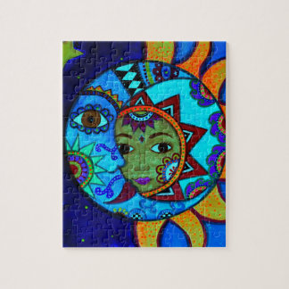 SUN AND MOON PRISARTS PAINTING PUZZLE
