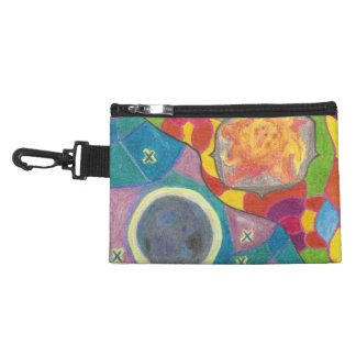 Sun and Moon Stylized Accessory Bag
