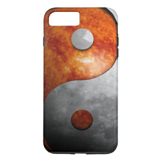 Sun and Moon Yin and Yang Symbol iPhone 7 Plus Case