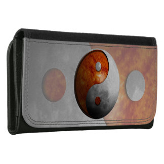 Sun and Moon Yin Yang Wallet