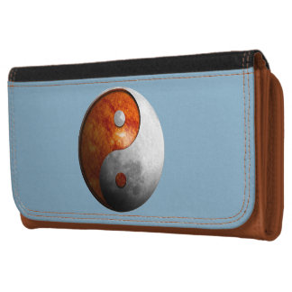Sun and Moon Yin Yang Wallet For Women