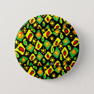 Sun and peppers 2 inch round button