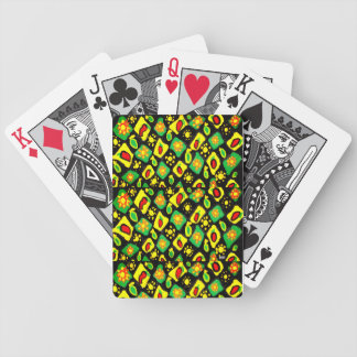 Sun and peppers bicycle playing cards