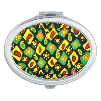 Sun and peppers vanity mirror
