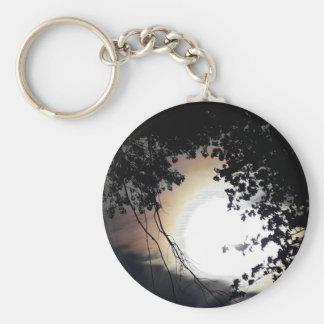 Sun And Pin Oaks Keychain