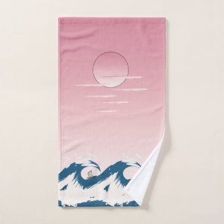 Sun and Sea Bath Towel Set