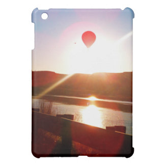 Sun beam, Hot air balloon iPad Mini Cover