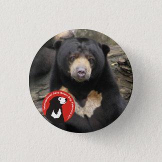 Sun Bear ISBD 1 Inch Round Button