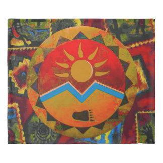 Sun Bear King Size Duvet Cover