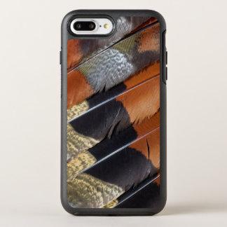 Sun Bittern feather detail OtterBox Symmetry iPhone 7 Plus Case