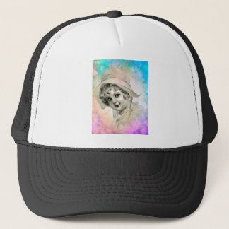 SUN BONNET TRUCKER HAT