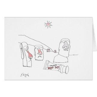 Sun Burn Cartoon 9354 Card